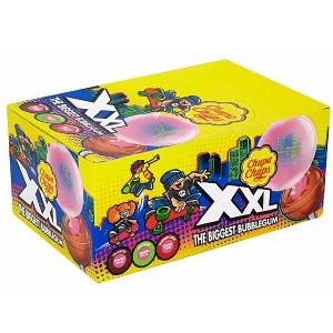 25 x XXL Bubblegum Chupa Chups Lolly Sweets Lollies 29g Each Wholesale Box